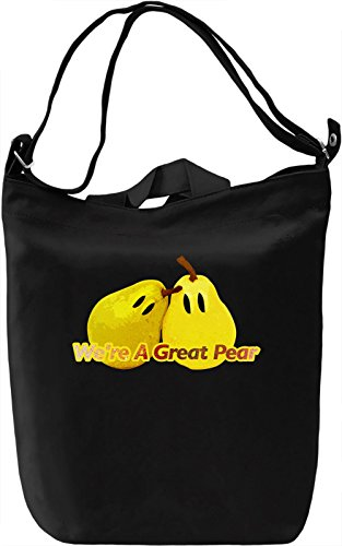 We're A Great Pear Borsa Giornaliera Canvas Canvas Day Bag| 100% Premium Cotton Canvas| DTG Printing|