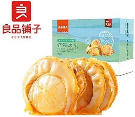中国名物 おつまみ 大人気 良品铺子 虾夷扇贝 海鲜即食零食 扇贝肉 网红生鲜特产 100g*1