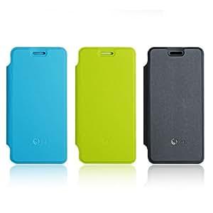 Caso de la cubierta protectora del caramelo colorido del cuero de la PU para JIAYU G4 Smartphone - Color aleatorio