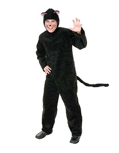 Plush Cat Adult Plus Costume ぬいぐるみ猫大人用プラスコスチューム♪ハロウィン♪サイズ:Plus (1X)