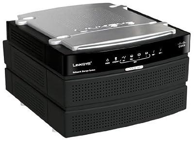 Cisco-Linksys Network Storage System with 2 Bays (NAS200)