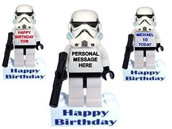Personalised clone trooper stormtrooper minifigure boy man mini personalised clone trooper stormtrooper minifigure boy man mini action figure on happy birthday message bookmarktalkfo Images