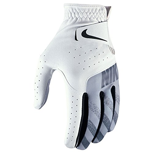 Nike Sport Golf Gloves 2017 Cadet White/Black/Wolf Gray Fit to Left Hand X-Large – DiZiSports Store