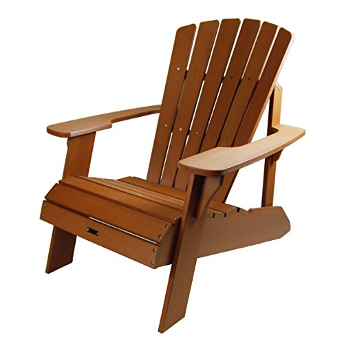 faux dp lifetime wood adirondack brown com light chair amazon