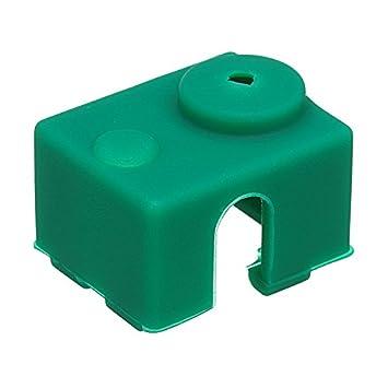 SODIAL Para V6 Manguito Caja Funda de Silicona V6 PT100 Impresora ...