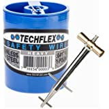Clamptite Kit - CLT01-4 3/4' Stainless Steel Tool w/Aluminum Bronze T-Bar Nut and 220 ft 1lb. Can of .041 Safety Wire