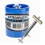 Clamptite Kit - CLT01 - 4 3/4'' Stainless Steel Tool w/ Aluminum Bronze T-Bar Nut and 220 ft 1lb. Can of .041 Safety Wire