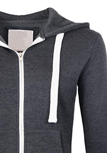 StyLeUp Women's Basic Pullover Hoodie Sweater Lightweight Warm Fleece Lining