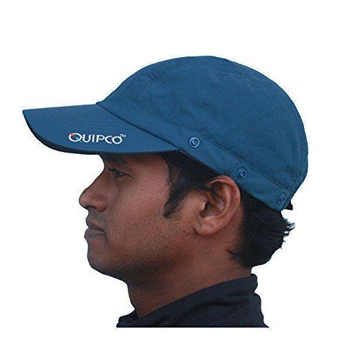 daa635c39a9 Buy QuipCo Explorer Anti UV Cap - Color Blue Online at Low Prices in India  - Amazon.in