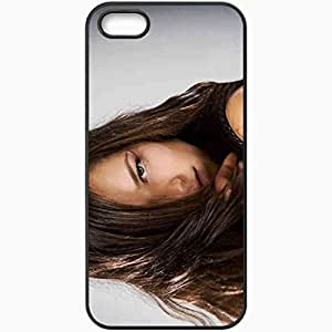 Personalized iPhone 5 5S Cell phone Case/Cover Skin Ana Ivanovic 4 Sports Black