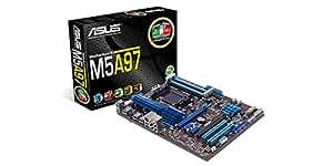 Asus Socket AM3+/ AMD 970/ Quad CrossFireX/ SATA3&USB3.0/ A&GbE/ ATX Motherboard (M5A97)