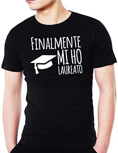 Maglietta Wixsoo Divertente Nero Laurea Premium T shirt Yfg7vbIym6