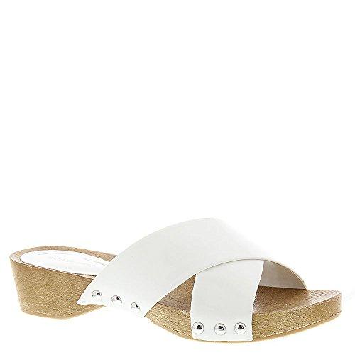 Bcbgeneration Soho Womens Sandal 7.5 B (m) Us White-patent
