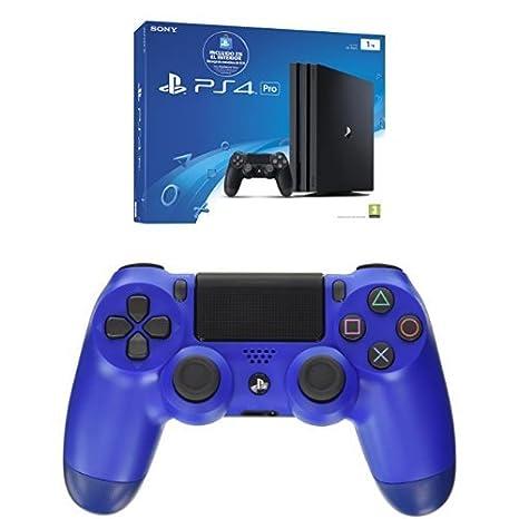 PlayStation 4 Pro (PS4) - Consola de 1 TB (incluye recarga ...