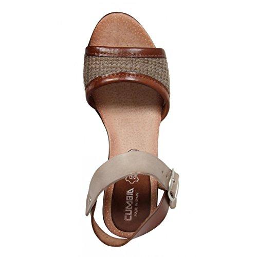 Chaussures compensées pour Femme CUMBIA 30158 TAUPE