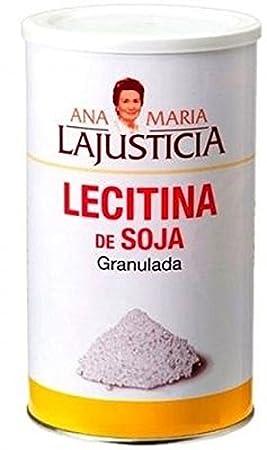 Lecitina Soja Granulada 500 gr de Ana Maria Lajusticia: Amazon.es: Salud y cuidado personal
