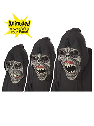 Animotion Halloween Masks (California Costumes Men's Night Fiend Mask,Assorted,One)