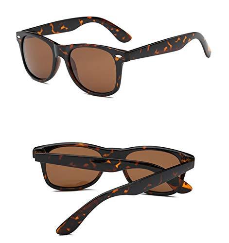 de de la Las de UV400 Sol de Gafas para de polarizadas Gafas Gafas de Retro Manera Vendimia la la Hombre Sol de de Tortuga Sol la conducción B G conducción Gafas KOMNY Eyecrafters de OqTqa