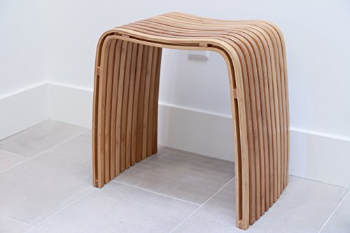 In This Space M Bamboo Spa Stool by In This Space