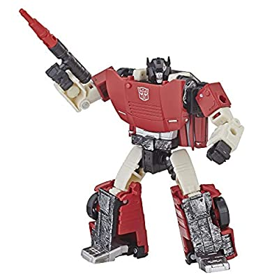 Transformers Generations War for Cybertron: Siege Deluxe Class WFC-S7 SIDESWIPE Action Figure: Toys & Games
