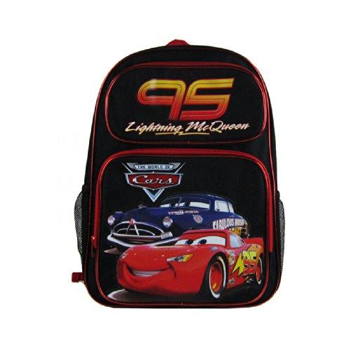 - Officially Licensed Disney Pixar Cars Backpack - Lightning McQueen and Doc Hudson