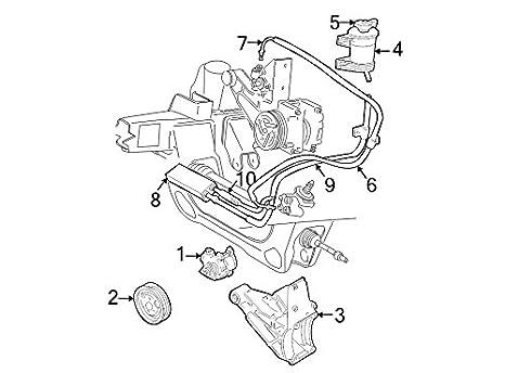 Amazon Com Ford F57z 3a713 Ac Power Steering Return Hose Automotive