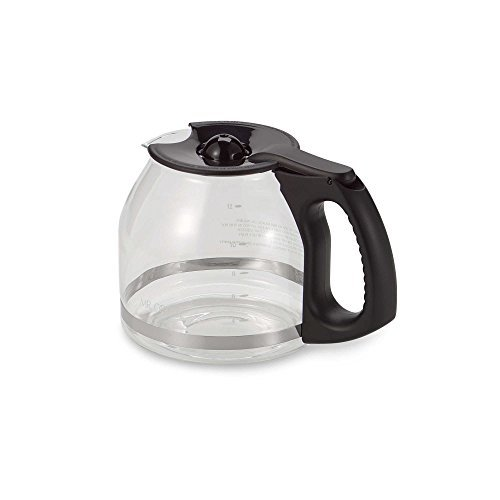 Mr. Coffee 12-Cup Replacement Decanter with Ergonomic Handle in Black (Mr Black Decanter Coffee Replacement)