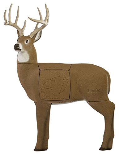 Field Logic GlenDel Full-Rut Buck 3D Archery Target with Replaceable Insert Core
