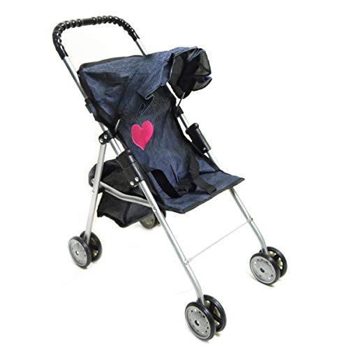 My First Doll Stroller Denim for Baby Doll - Buy Online in