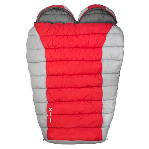 Winterial Double Mummy Sleeping Bag / Camping ...
