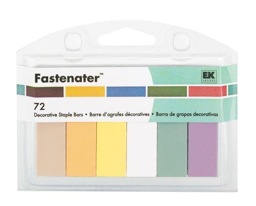 EK Success Fastenater Pastels Staple Bars Value -