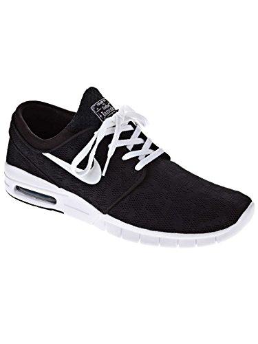 Nike Stefan Janoski Max, Zapatillas de Skateboarding para Niños Negro / Blanco (Black / White)