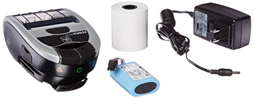 Zebra M2I-0UB00010-00 IMZ220 Direct Thermal Mobile Printer, Monochrome, 203 DPI, With Bluetooth (203 4' Dpi Printer)