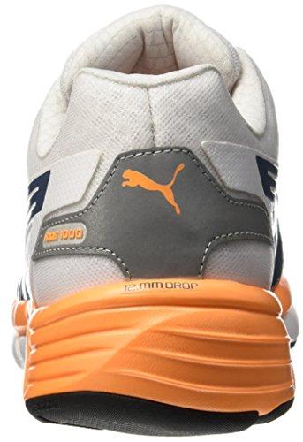 PumaFaas 1000 v1.5 - Zapatillas de Running adultos unisex Blanco - Blanc (White/Blue Wing Teal)