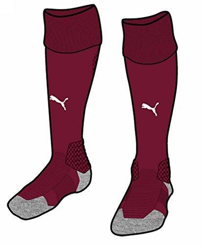 Mixte Socks cordovan Liga Chaussettes White puma Rouge Puma qwSBtx1n