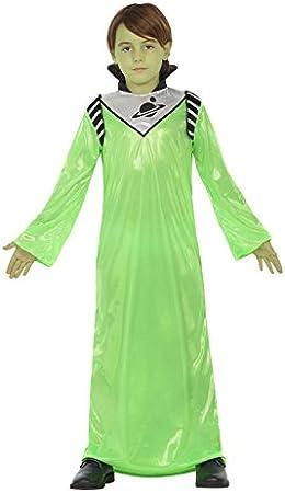 Atosa-20744 Disfraz Alien, Color Verde, 7 a 9 años (20744): Amazon ...
