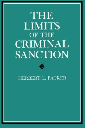 The Limits of the Criminal Sanction