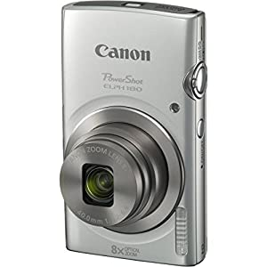 Canon PowerShot ELPH 180 20MP 8x Zoom Digital Camera + Card + Reader + Case + Accessory Bundle by The Imaging World