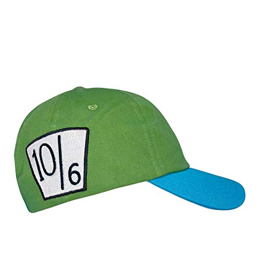 Whosits & Whatsits Green Mad Hatter Dad Hat ()