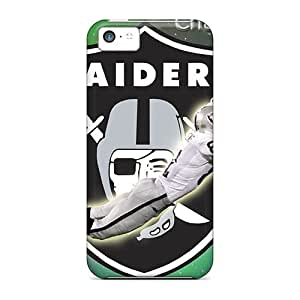 New Style Leeler Oakland Raiders Premium Tpu Cover Case For Iphone 5c