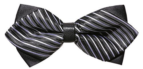 Someties Men's Pattered Formal Pre-Tied Bow Ties Polyester Tuxedo & Wedding Adjustable Bowtie(12) Formal Bow Tie