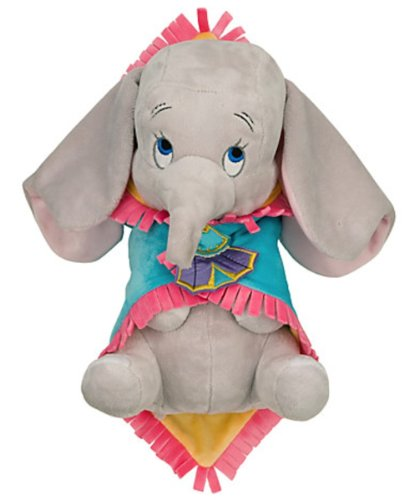 Disney Theme Park Baby Dumbo in a Blanket Plush Doll NEW