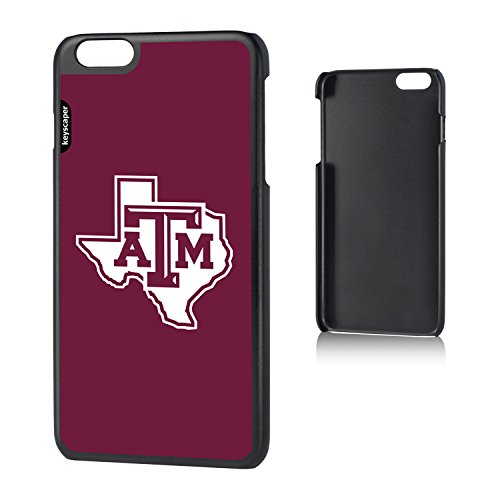 Texas A&M Aggies iPhone 6 Plus & iPhone 6s Plus Slim Case officially licensed by Texas A&M University for the Apple iPhone 6 Plus by keyscaper® Sleek Light Durable Precise (Texas A&m University Night Light)