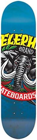 Elephant Brand Skateboards Large Logo Skateboard Deck 8.5 x 32.5-Inch