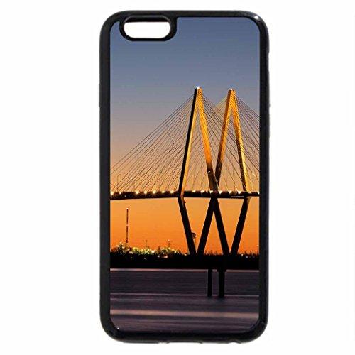 iPhone 6S / iPhone 6 Case (Black) beautiful fred hartman bridge in texas