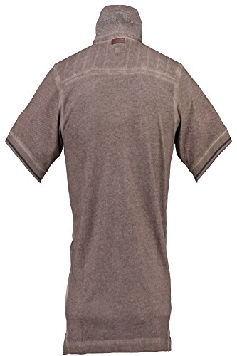 Courtes Manches Les Norway Taupe Geographical Kavana Avec Brun Homme Polo x1F6Yf