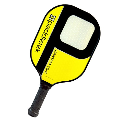 Paddletek Bantam TS-5 Pickleball Paddle, Yellow