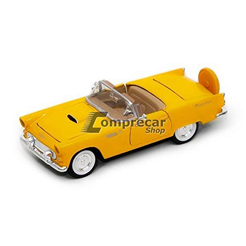(Motormax 1/24 Scale 1956 Ford Thunderbird Convertible Diecast Model Vehicle)