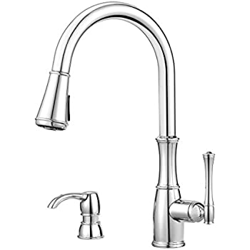 Pfister Wheaton 1 Handle Pull Down Kitchen Faucet With