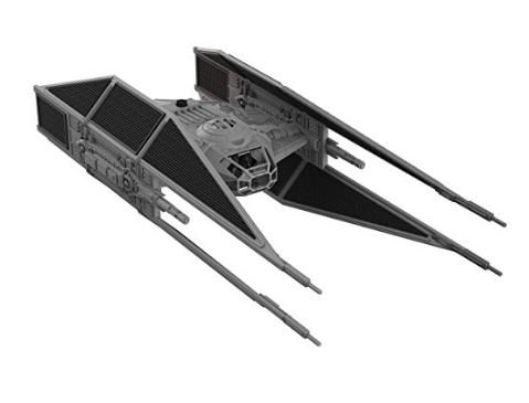 Revell Snaptite Build and Play Star Wars: The Last Jedi! Kylo Ren's TIE Fighter